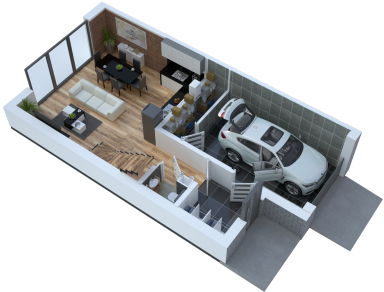 Mieszkanie jak dom